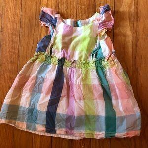 12 - 18 month Spring Gingham Dress Gap
